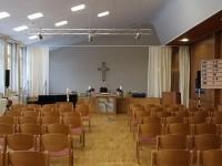Blick in den Stephanus-Gemeindesaal