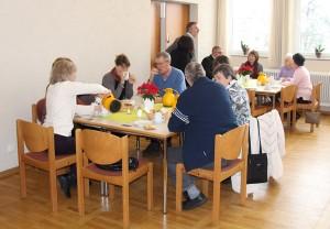 Kirchencafé im Gemeindesaal