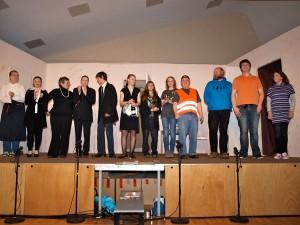 Die Theater AG im Januar 2012