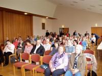 Publikum der Kulturnacht im Gemeindesaal der Stephanuskirche