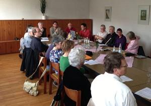 Sitzung der Kirchengemeinderäte am 11. Juni 2013 in Stephanus
