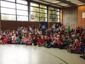 Mehr als 40 Kinder gingen an den Start