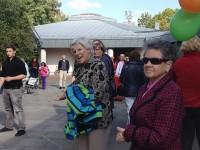 Besucher des Spendenlaufs