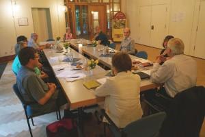 Gemeinsame Sitzung der KGR von Salvator und Stephanus am 21.06.2016. Foto: Manfred Feurer (Salvator)