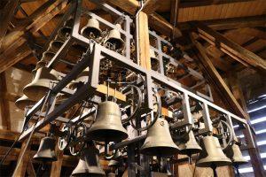 Die Glocken des Carillon im Glockenmuseum