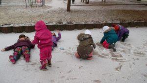 Juchee, der erste Schnee!