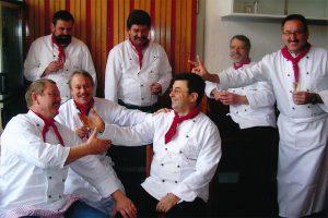 der Männerkochclub am 15. Dezember 2005